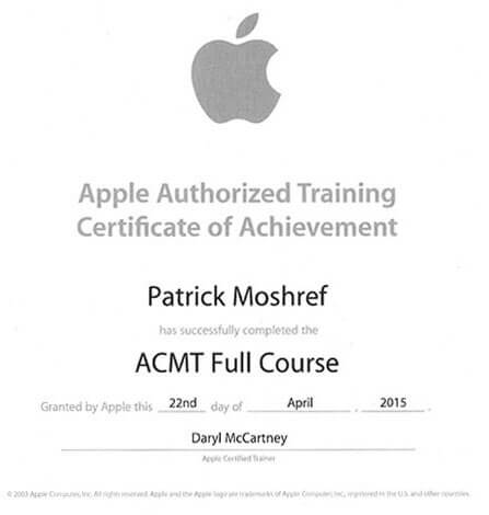 Apple Mac Certified